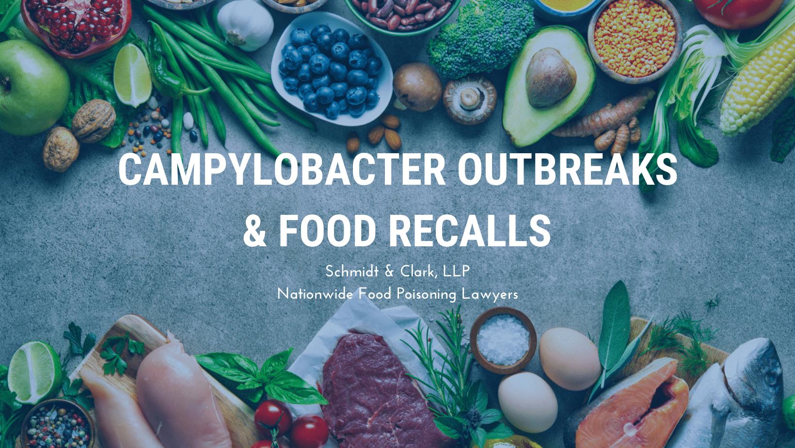 Campylobacter Outbreaks Food Recalls