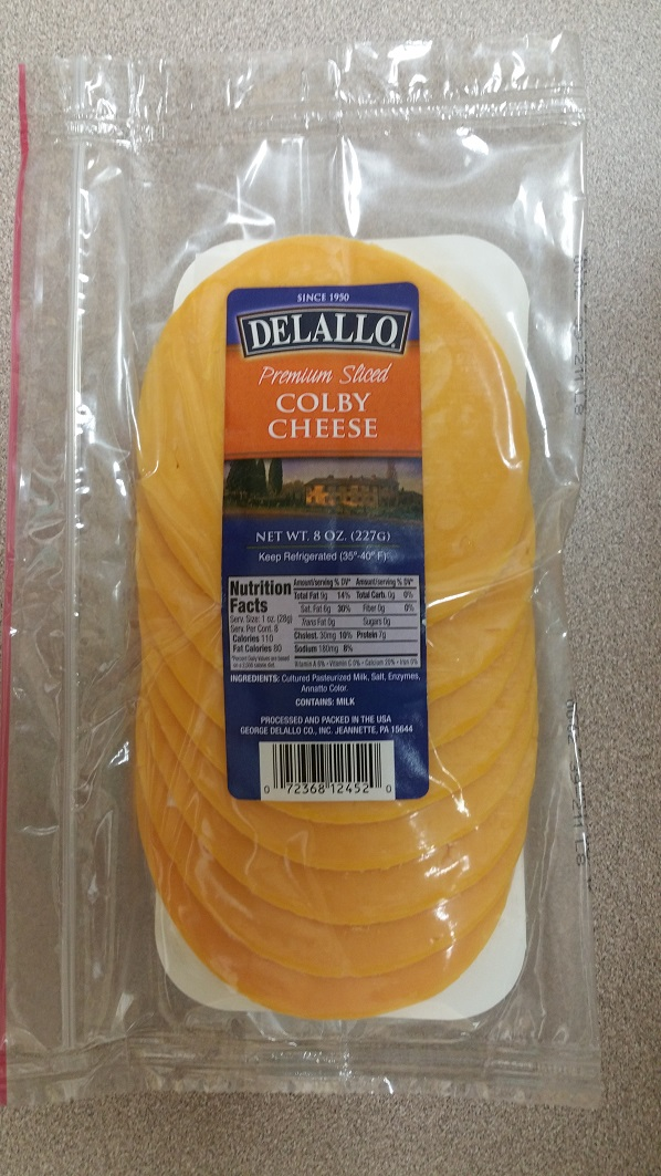 Colby Cheese Recall