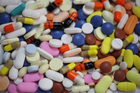 Drug Recall - image of pills, tablets and capsules