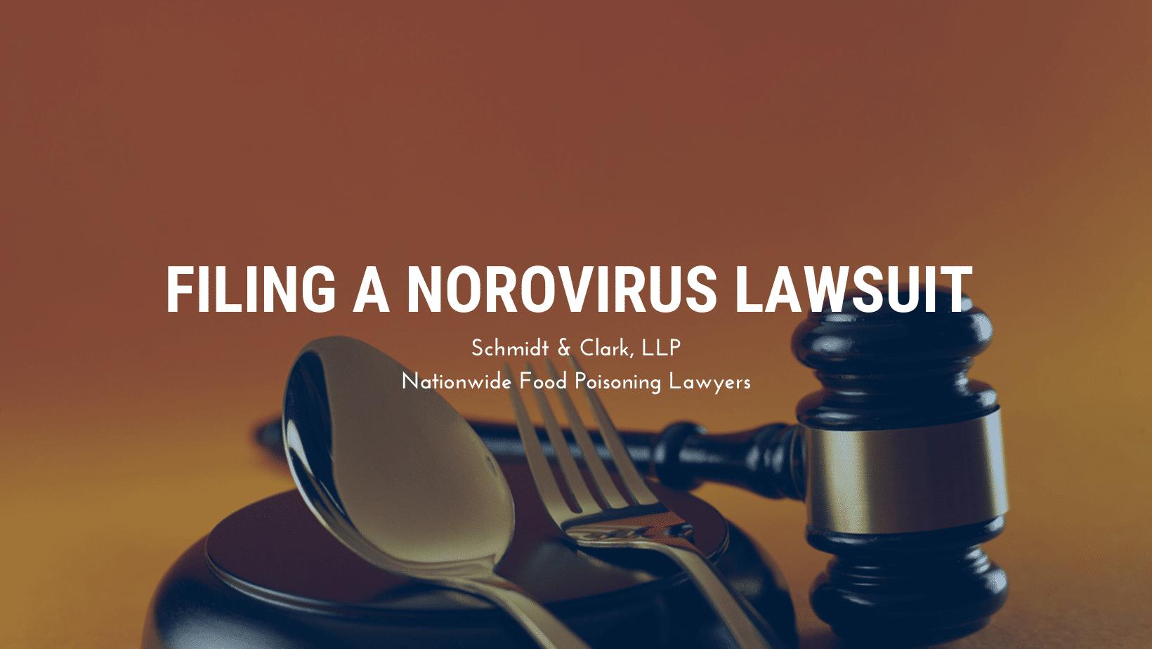 Norovirus lawsuit