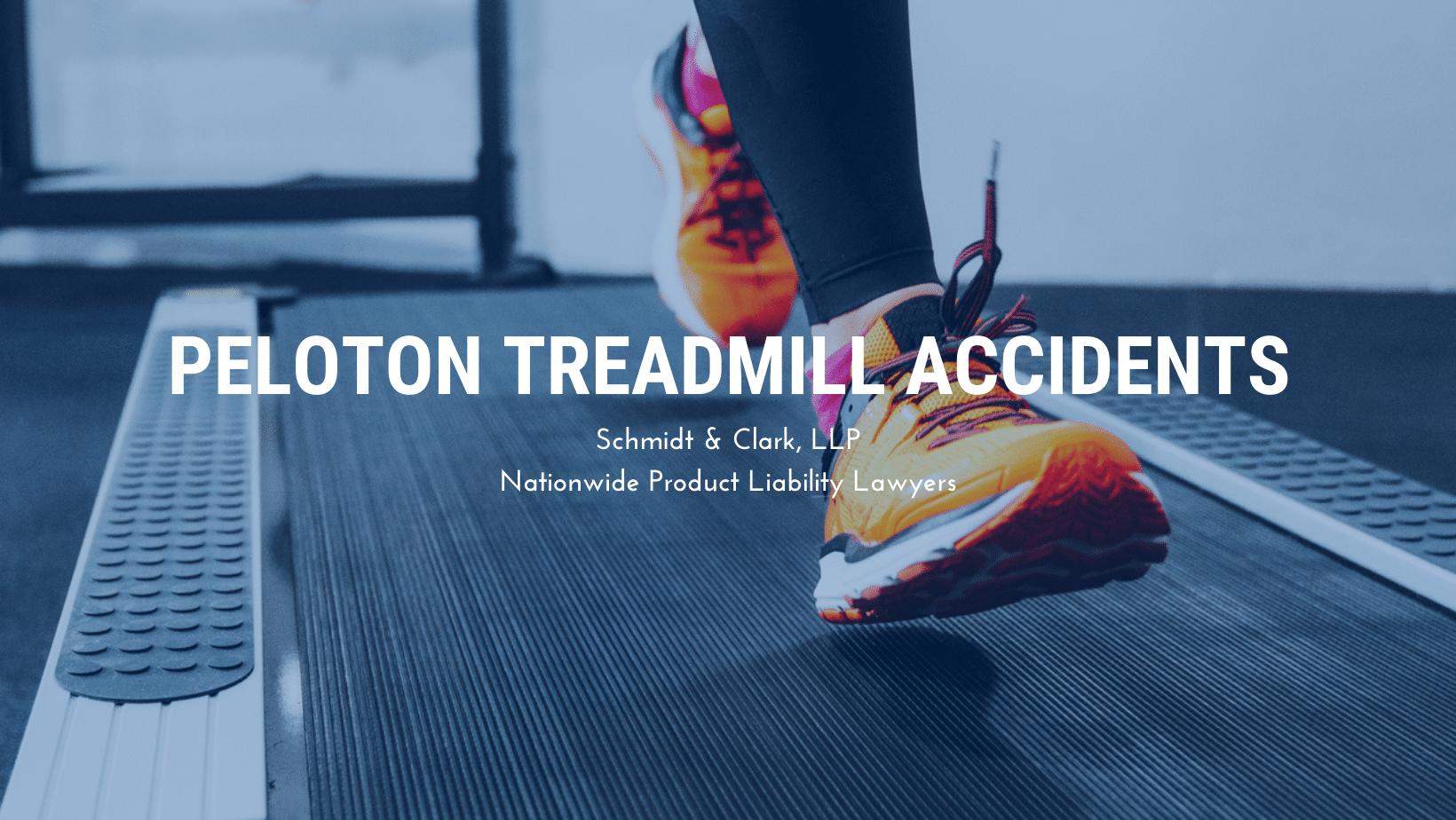 Peloton treadmill accidents lawsuit lawyer