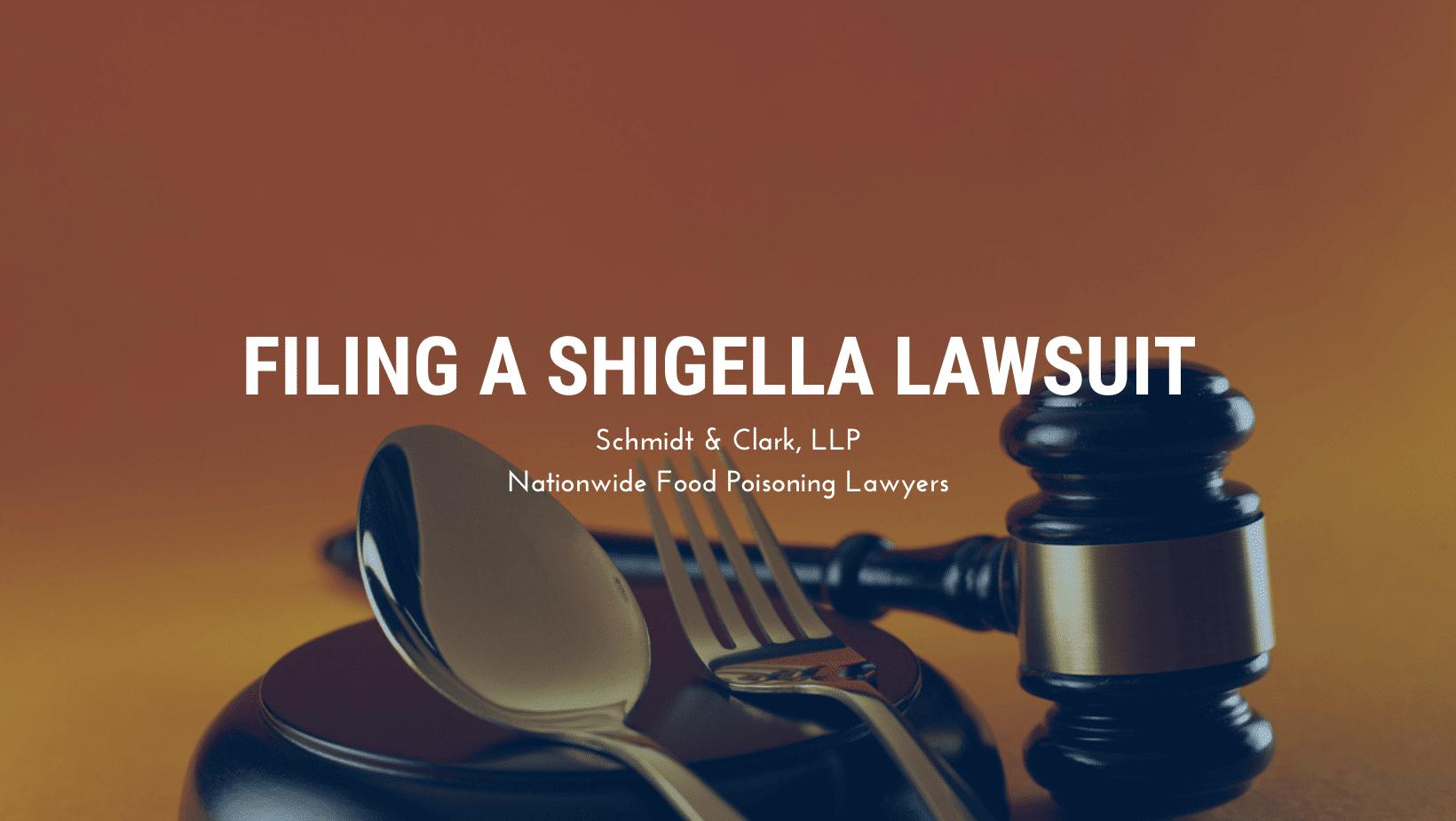 Shigella lawsuit