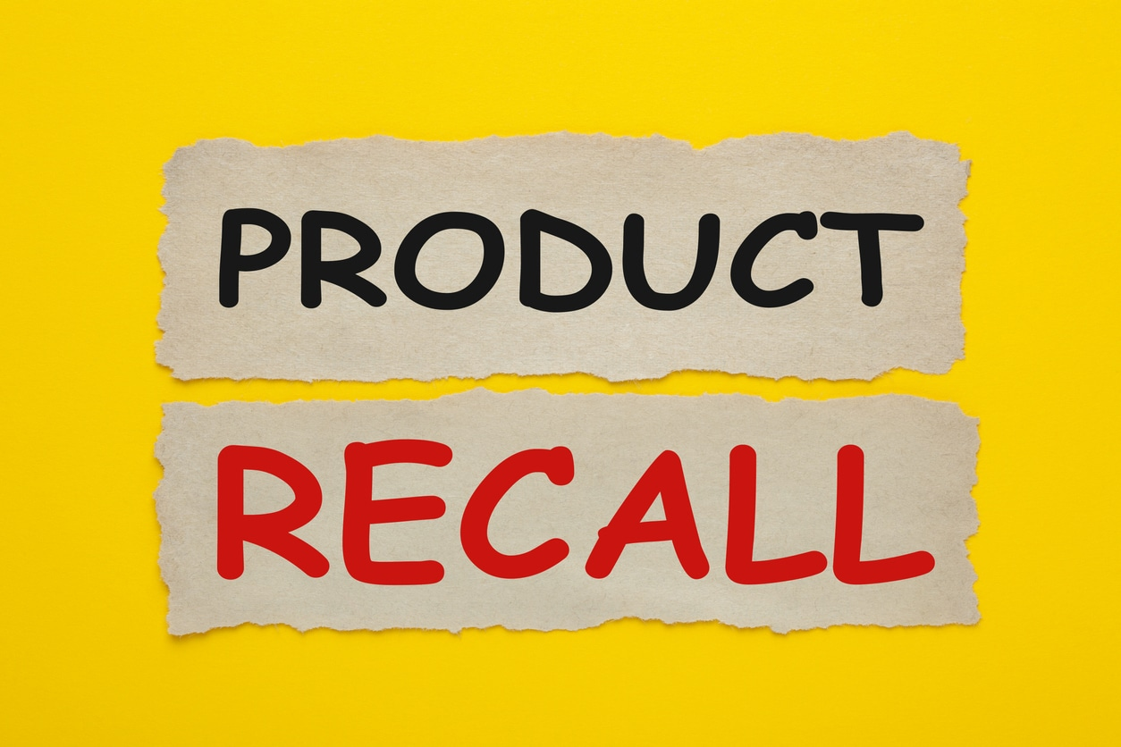 pressure cooker product recall