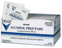triad alcohol prep pad injury bacteria lawyer lawsuit attorney class action litigation claim settlement